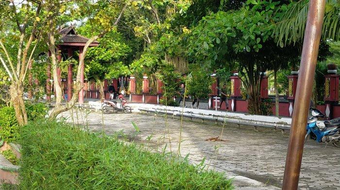 Taman Kota Sampit Masih Ditutup, Warga Kotim Belum Bisa Menikmati Taman