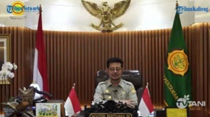 Menteri Pertanian Syahrul Yasin Limpo Sebut Food Estate Kalteng Percontohan Utama