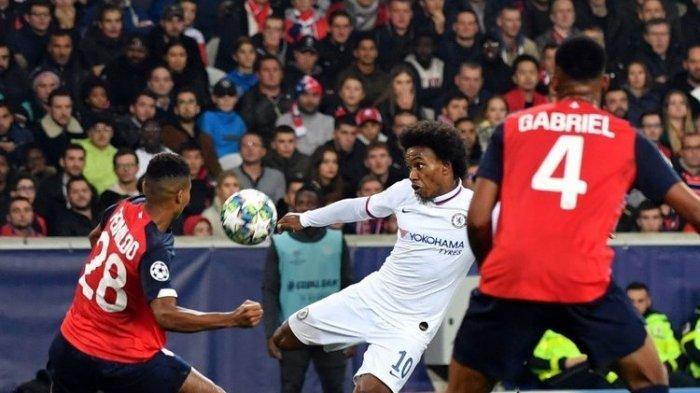 Chelsea Vs Lille di Liga Champions pada Laga Putaran Kedua, Tim Tamu The Blues Tekuk Tuan Rumah 2-1