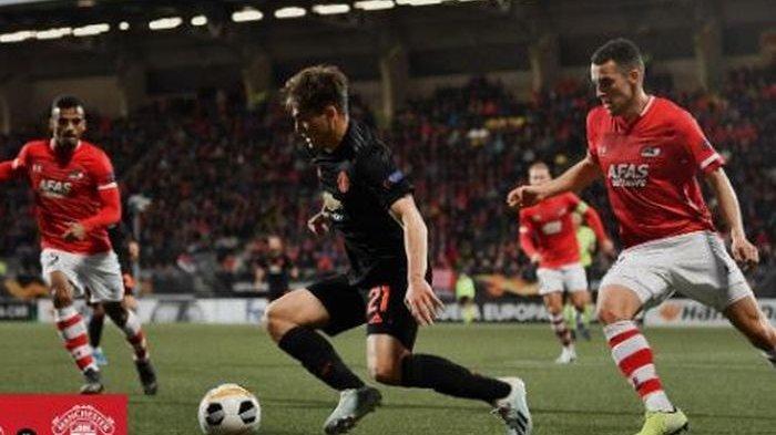 David De Gea Pertahankan Gawang Manchester United dari Kebobolan Kontra AZ Alkmaar di Liga Europa