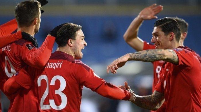 Hasil EURO, Skor Wales vs Swiss 1-1, Kedua Tim  di Bawah Italia di Klasemen Grup A