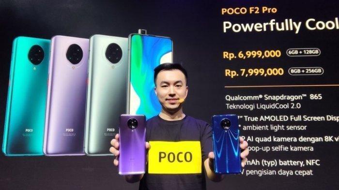 Xiaomi Harga Mulai dari Rp 6,9 Jutaan, Smartphone Flagship Killer 5G Poco F2 Pro