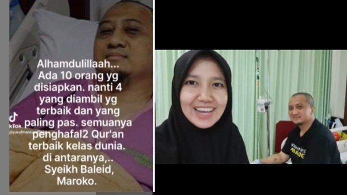 Kondisi Terkini Ustaz Yusuf Mansur: Hemoglobin Melesat, 4 Penghafal Al Quran Siap Donorkan Darah