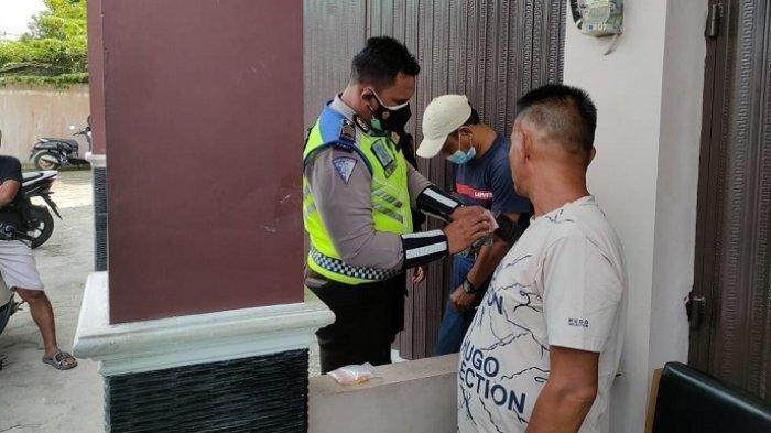 Rencana Cuma Patroli Dialogis, Polisi Dapat Tangkapan 2 Penjual Zenith di Pasar Besar Palangkaraya