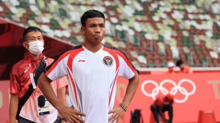 Atletik Olimpiade Tokyo 2020, Sprinter Andalan Indonesia Lalu Muhammad Zohri Bertanding Sore Ini