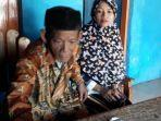 tribunkaltengcom-mbah-dirgo-83-bersama-istrinya-nuraeni-27-nikah-beda-usia.jpg