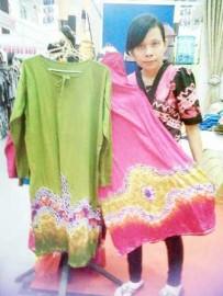 Dress Kaos Sasirangan