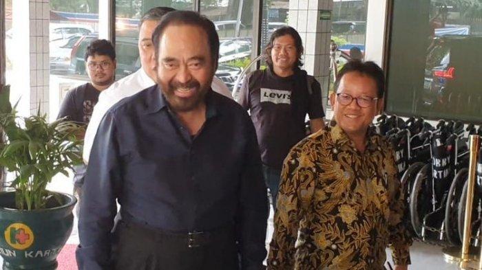 Nama Menteri Mulai Beredar Grup WhatsApp, Surya Paloh Malah tak Pernah Diajak Jokowi Bahas Menteri