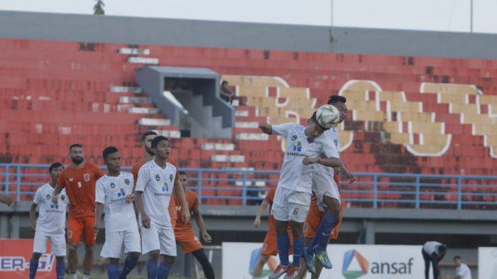 Lawan Klub Liga 2 Mitra Kukar dan Persiba Balikpapan, Tim Sepak Bola PON Kaltim Usung Misi Berbeda