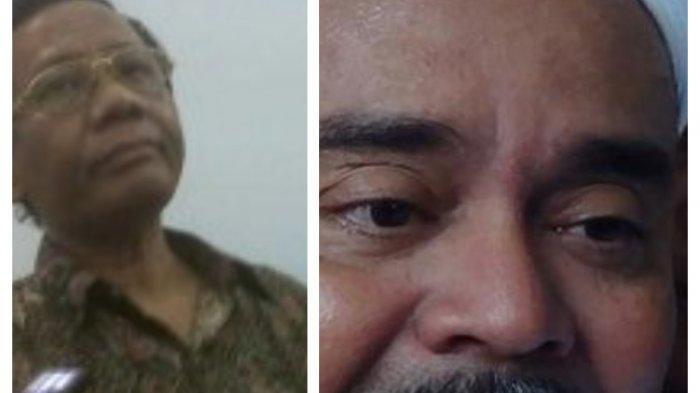 Surat Pencekalan Imam Besar FPI Rizieq Shihab Dikeluarkan Arab Saudi, Mahfud MD: Selesaikan Sendiri