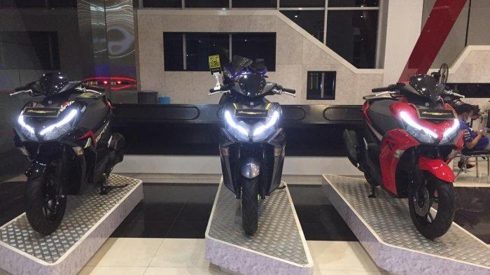 All New Aerox Dilengkapi Smart Key, Kendaraan Sport Cita Rasa Scooter