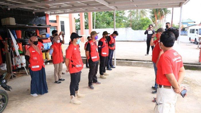 Distribusi Bantuan, PMI Berau Buka Layanan Kesehatan Bagi Korban Banjir di Kalimantan Selatan
