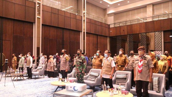 BNPB Gelar Pelatihan Bagi 1000 Relawan Covid-19 Seluruh Kaltim di Samarinda