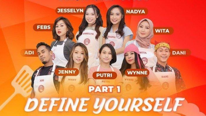 17 Peserta MasterChef Indonesia Season 8 yang akan tampil hari ini, Sabtu 12 Juni 2021