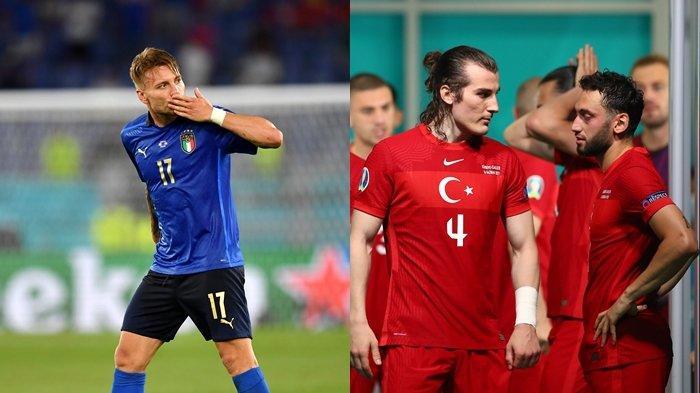 Hasil & Klasemen Euro 2020 Terbaru: Italia Lolos ke Babak 16 Besar, Hakan Calhanoglu Cs Tersingkir