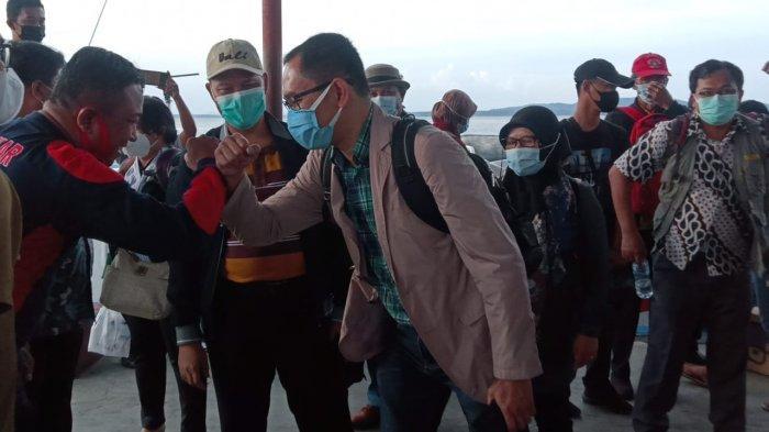 BREAKING NEWS Tinjau Titik Batas RI-Malaysia, Pejabat Kemlu dan BNPP Tiba di Nunukan