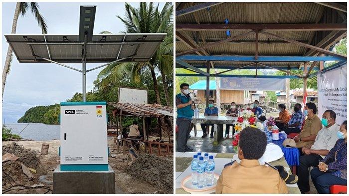Guna melistriki 11 kampung yang tersebar di Kabupaten Kepulauan Yapen, Papua, PLN Peduli salurkan bantuan berupa 574 unit baterai serta pembangunan 28 unit Stasiun Pengisian Energi Listrik (SPEL).