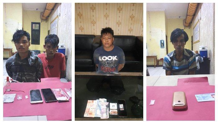 Simpan Sabu, 4 Pemuda Diringkus Satuan Reserse Narkoba Polres
