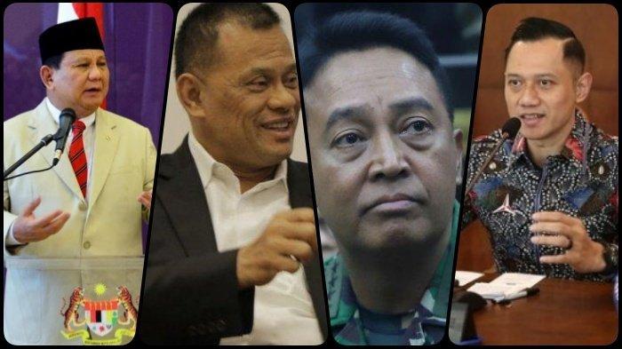 4 Tokoh Militer yang Layak Jadi Capres, Ada Prabowo, Gatot Nurmantyo, Andika Perkasa, Bagaimana AHY?