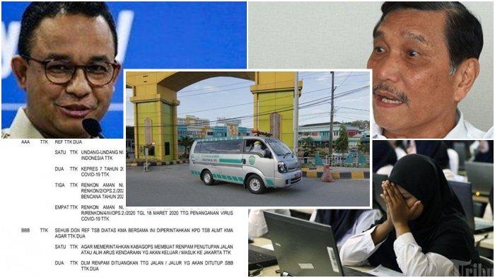 5 TERPOPULER: Hari Ini Luhut Pimpin Lockdown Jakarta, Telegram Polri, 1 Pasien Balikpapan Meninggal