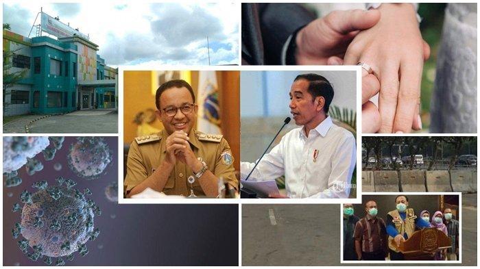 5 TERPOPULER: Jokowi dan Anies Kena Kritik, Ijab Kabul saat Corona, Akses ke Tegal Ditutup Beton