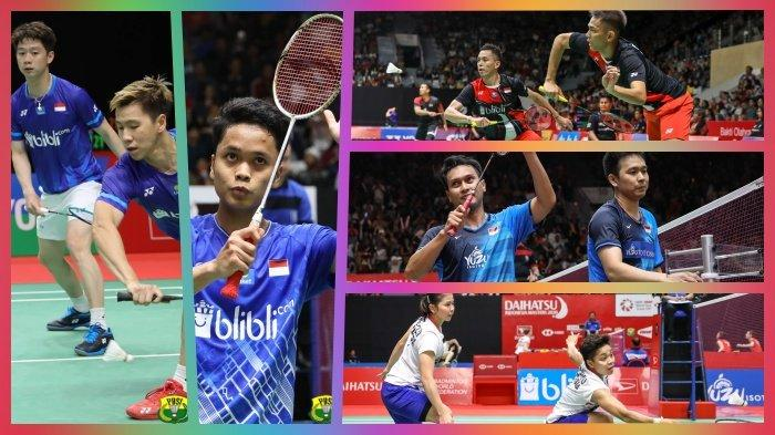 Semifinal Indonesia Masters 2020 Sabtu 18 Januari Live TVRI & Live Streaming, Fajri vs The Daddies