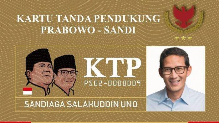 Bentuk, Tarif, hingga Respons Gerindra, Inilah6 Fakta KTP Prabowo-Sandiyang Hebohkan Media Sosial
