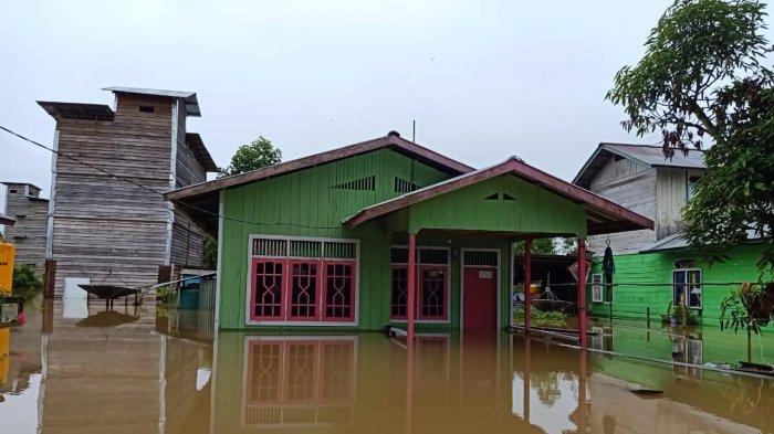 Sejak 8 Januari, Delapan Desa di Sembakung Nunukan Banjir, Korban Pilih Tetap Tinggal Dalam Rumah