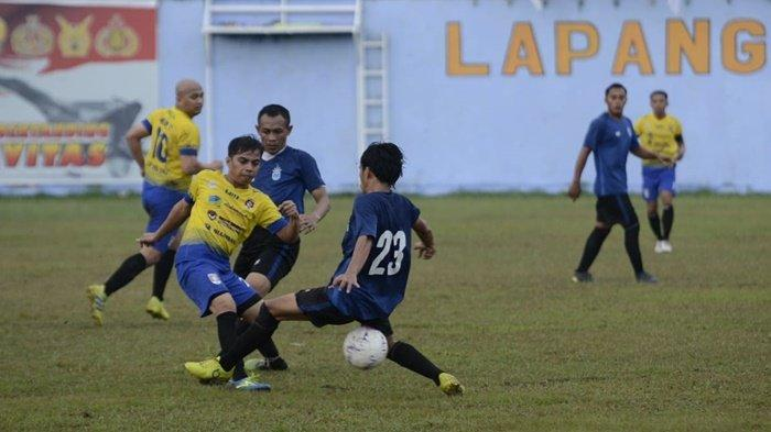 Hujan Gol Tekuk RNF 5-1, Ababil Pimpin Klasemen Grup G Turnamen Danlanud Dhomber Cup XXIV