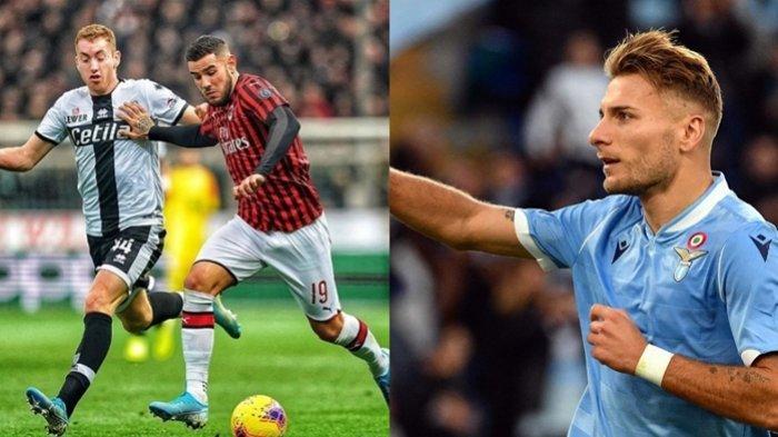 Hasil Liga Italia, AC Milan Akhirnya Menang, 3 Gol Lazio ke Gawang Udinese Bayangi Juventus