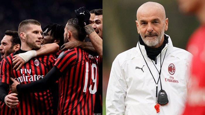 Stefano Pioli Buka-bukaan Kunci Moncernya Permainan AC Milan, Tak Semata Karena Zlatan Ibrahimovic