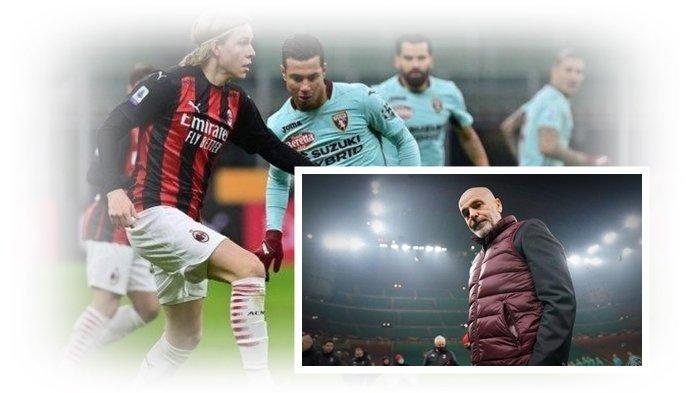 AC Milan Babak Belur Kalahkan Torino, Donnarumma Diusir Wasit, Calhanoglu Pahlawan Drama Adu Penalti