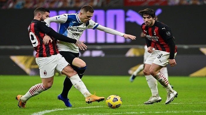 Seru, Live Streaming TV Online Liga Italia Atalanta vs AC Milan, Pioli Keluarkan 2 Senjata Andalan