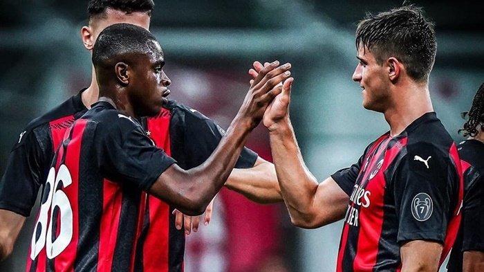 Debut Brahim Diaz di Liga Italia, Hasil Laga Uji Coba AC Milan vs Monza, Rossoneri Menang 4-1
