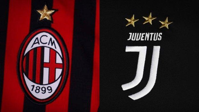 Siaran Langsung TVRI dan Link Live Streaming AC Milan vs Juventus Semifinal Coppa Italia Dini Hari
