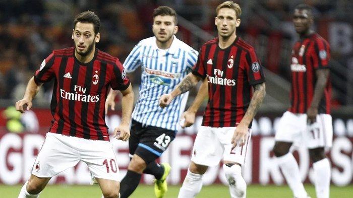 LINK Live Streaming TV Online AC Milan vs SPAL, Stefano Pioli Memburu Kemenangan Pertama Liga Italia
