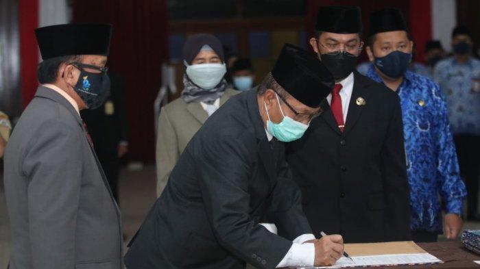 Jelang Akhir Masa Jabatan, Walikota Rizal Effendi Lantik 3 Kepala OPD di Lingkup Pemkot Balikpapan