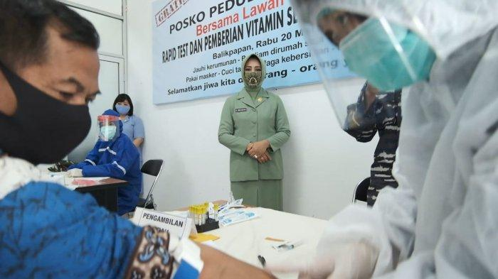 250 Warga Balikpapan Rapid Test Covid-19, Sasar Juga ke Pedagang Pasar Pandansari dan Klandasan