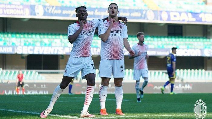 Hasil Liga Italia, Instruksi Ibrahimovic Bawa AC Milan Menang atas Verona, Skuad Muda Menggila