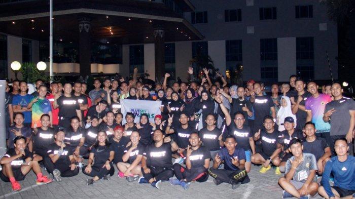 Jelang Pra Marathon Indonesia Maju 2020, Ada SinergiBlue Sky Runners Riot Balikpapan danYonzipur