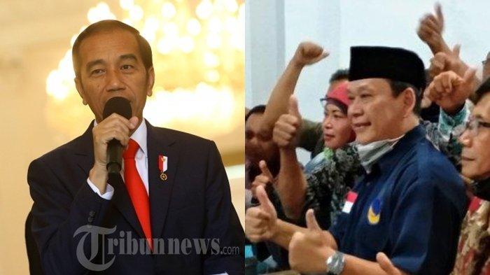 Perintah Jokowi dan Surya Paloh Bikin Adik Ipar Presiden, Wahyu Purwanto Mundur dari Calon Bupati