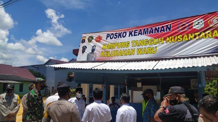 Bupati PPU Abdul Gafur Masud Luncurkan Kampung Tangguh Nusantara di Kelurahan Waru