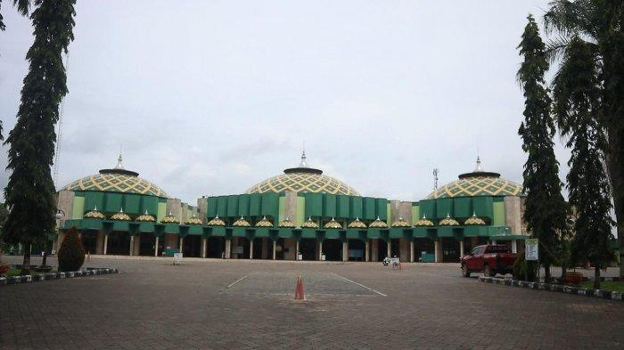 Pos Penerimaan Zakat Fitrah dan Fidyah di Masjid Agung Sultan Sulaiman Tenggarong Dibuka