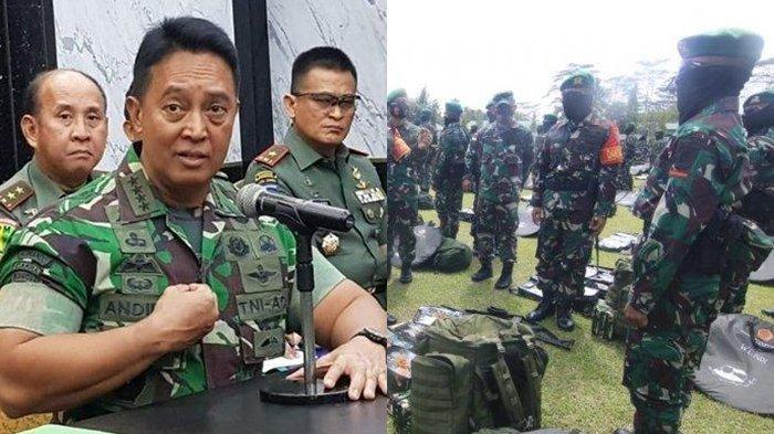 Kabar Buruk Bagi KSAD Jenderal Andika Perkasa, Anggota TNI Dikeroyok Sekelompok Pria Bertopeng