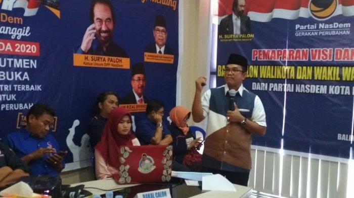 Paparkan Visi Misi Bacalon Pilkada Balikpapan, Ahmad Basir : Saya Punya Kedekatan  Semua Partai
