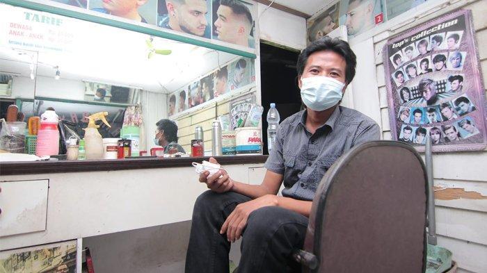 Muhyiddin, Tukang Cukur Asal Balikpapan yang Viral Gegara Pangkas Rambut Ustadz Abdul Somad