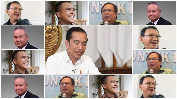 Ahok, Azwar Anas, Bambang Brodjonegoro, atau Tumiyana? Jokowi segera Umumkan CEO Ibu Kota Negara