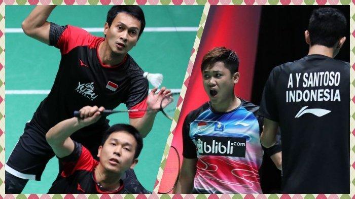 Hasil French Open 2019 Ahsan/Hendra Wahyu/Ade Kalah Ganda Putra hanya Marcus/Kevin di Perempat Final