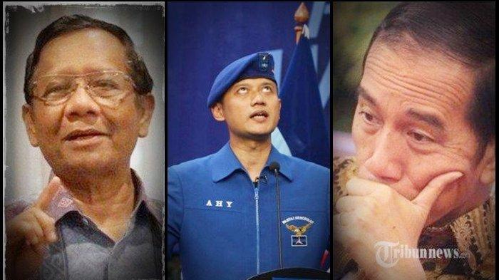 AHY Minta Pertolongan Jokowi dan Mahfud MD, Buntut Moeldoko Ditetapkan Ketum di KLB Partai Demokrat