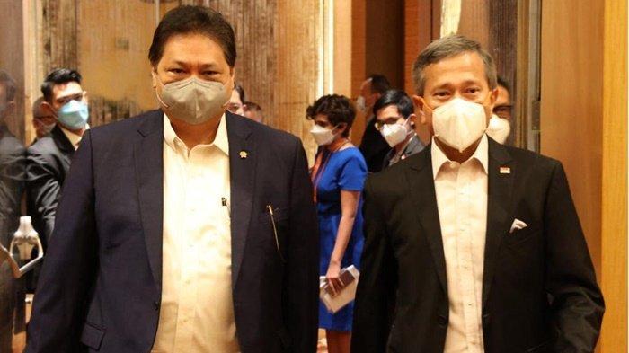 Salah Satu Mitra Ekonomi Utama Indonesia, Menko Airlangga Kunjungan Kerja ke Singapura